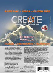Cherry Vanilla Raw Food Bar